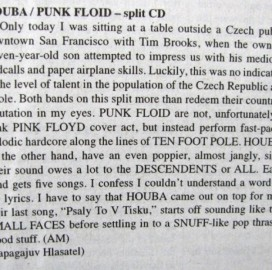 Houba / Punk Floid split CD 2010